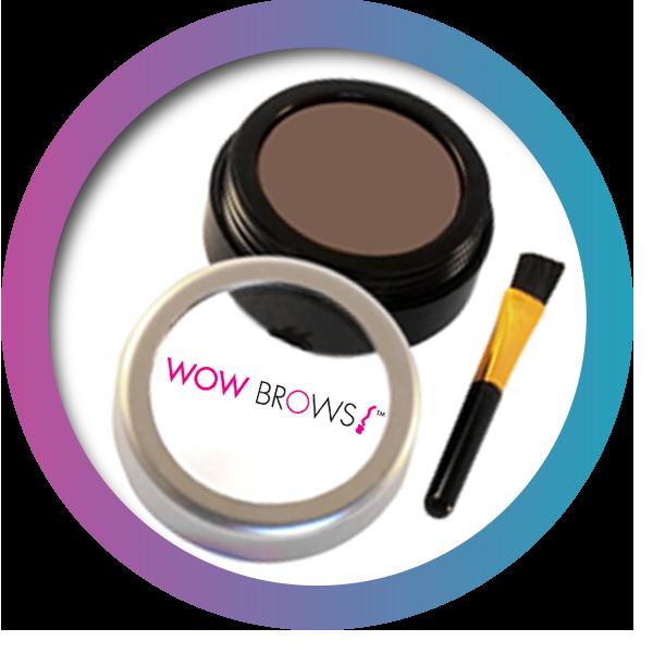 medium-brown eye shadow powder